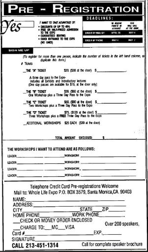 1988 - Los Angeles Times (Apr 24) - Whole Life Expo Ad 02