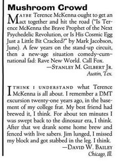 1992 - Esquire (Sept) Reader Letter 02