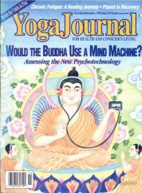 1992 - Yoga Journal (Nov-Dec) Cover