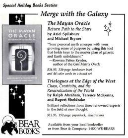 1992 - Yoga Journal (Nov-Dec) - Trialogues Book Ad