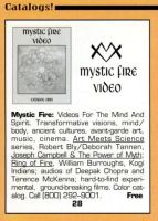 1993 - Yoga Journal (Sep-Oct) - Mystic Fire