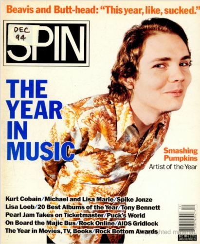 1994 - SPIN (Dec) Cover