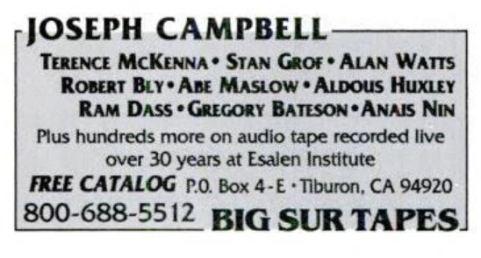 1994 - Yoga Journal (Mar-Apr) - Big Sur Tapes 01