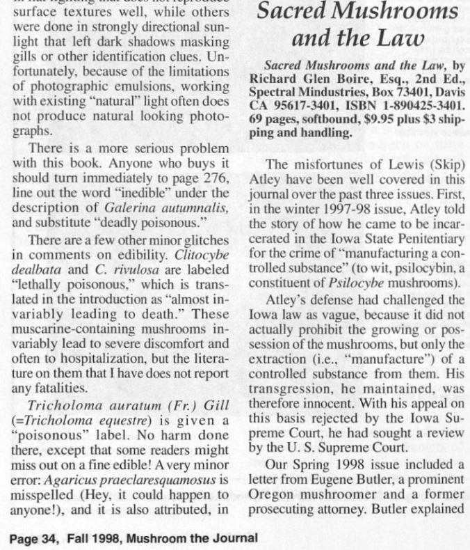 1998 - Mushroom - Harley Barnhart Disses TM 01