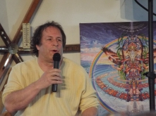 Rick Doblin presenting at Synergia Ranch (Photo credit: Kevin Whitesides)