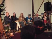 Panel #2 @ Synergia Ranch 2016 (Allan Badiner, Gay Dillingham, Valerie Plame Wilson, Ralph Metzner, Dennis McKenna, and Michael Garfield)(Photo credit: Kevin Whitesides)