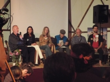 Panel #2 @ Synergia Ranch 2016 (Allan Badiner, Gay Dillingham, Valerie Plame Wilson, Ralph Metzner, Dennis McKenna, and Michael Garfield)(Photo credit: Kevin Whitesides)