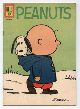 Charles Schulz, cartoonist, creator of Peanuts